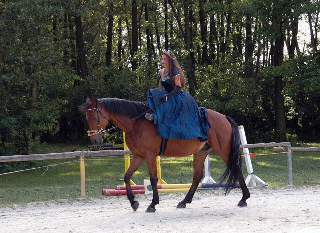 Damensattelreiten am Hammerwiesenhof